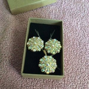 Ginger Snap earring and necklace set
